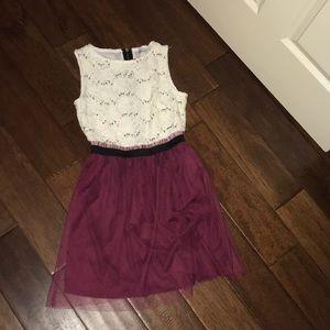 formal maroon dress!